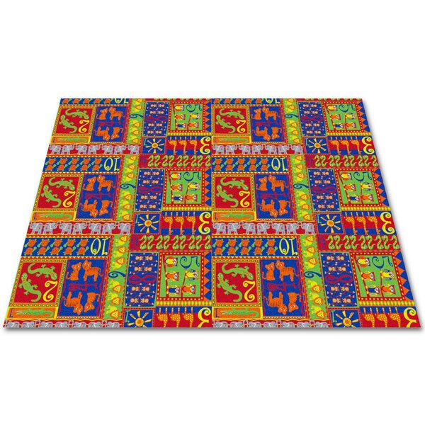 Counting Animals Kids Rug by Kid Carpet
