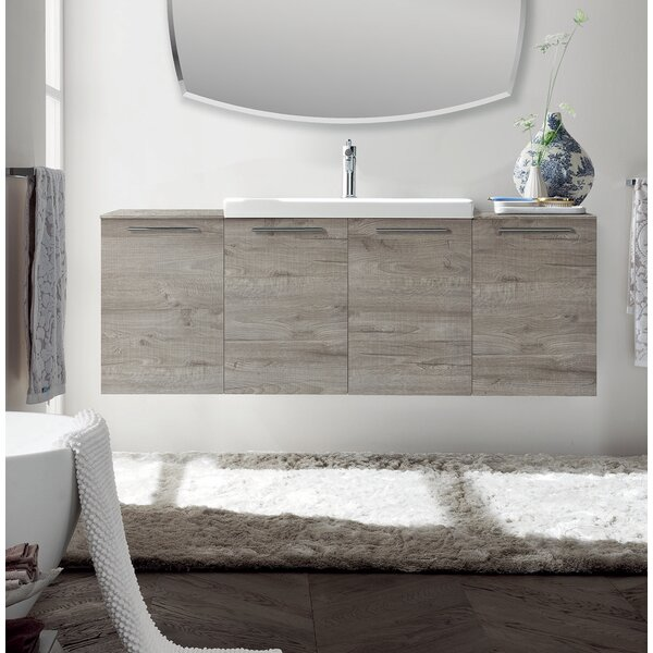Cybulski 55 Single Bathroom Vanity Set by Orren Ellis