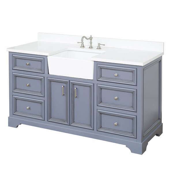 Zelda 60 Single Bathroom Vanity Set by Kitchen Bath Collection