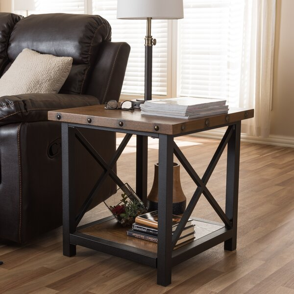 Amalea End Table by Wholesale Interiors