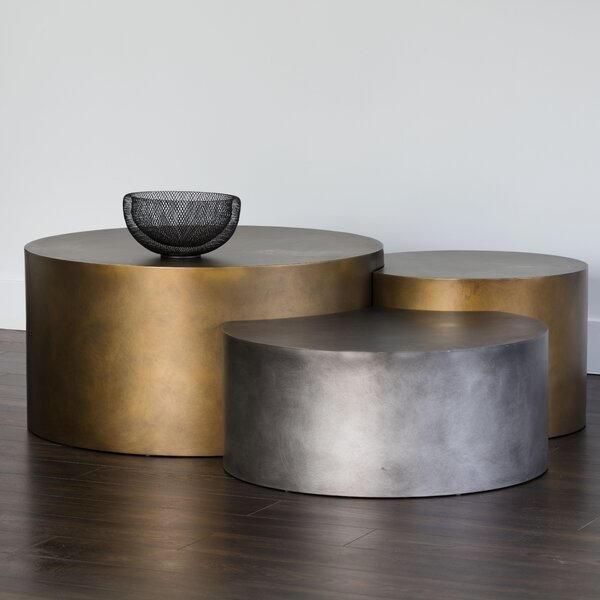 Ikon 3 Piece Coffee Table Set by Sunpan Modern