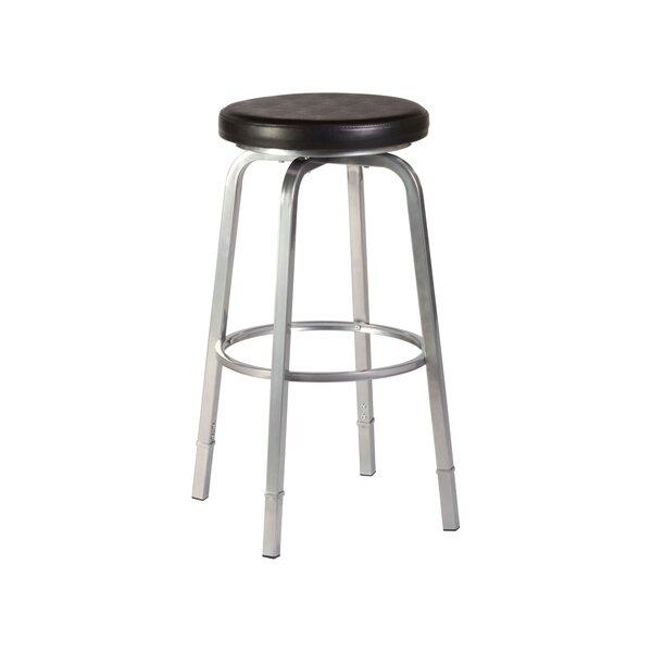 Neeman Adjustable Height Swivel Bar Stool by Hillsdale Furniture