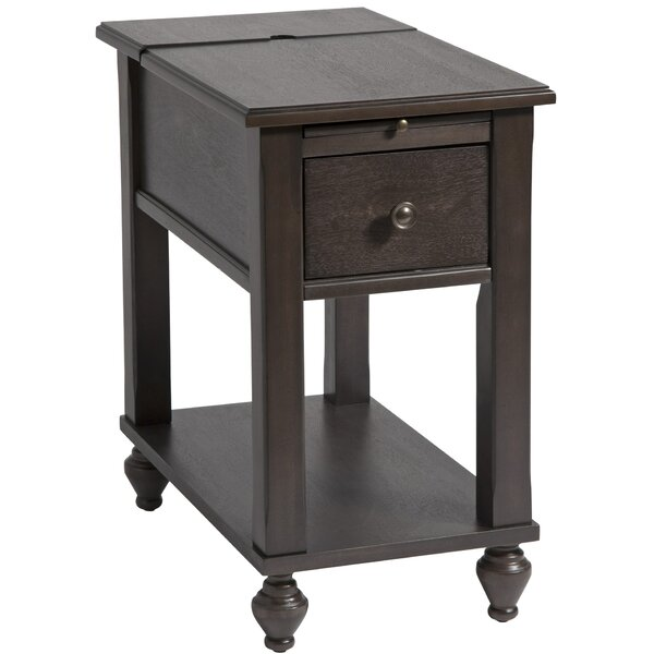 Amboyer Chairside End Table With Storage By Darby Home Co