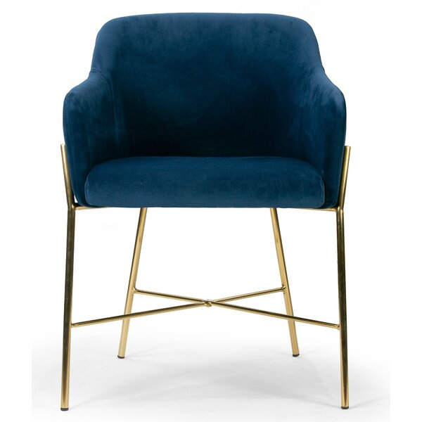 Vergas Upholstered Dining Chair by Mercer41
