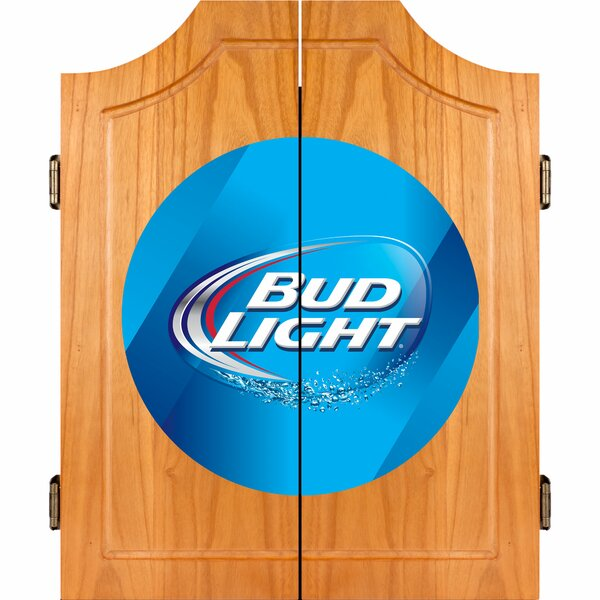 Bud Light Dart Cabinet by Trademark Global