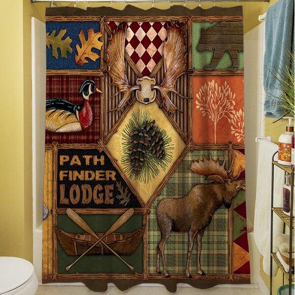 Adamski Shower Curtain by Loon Peak
