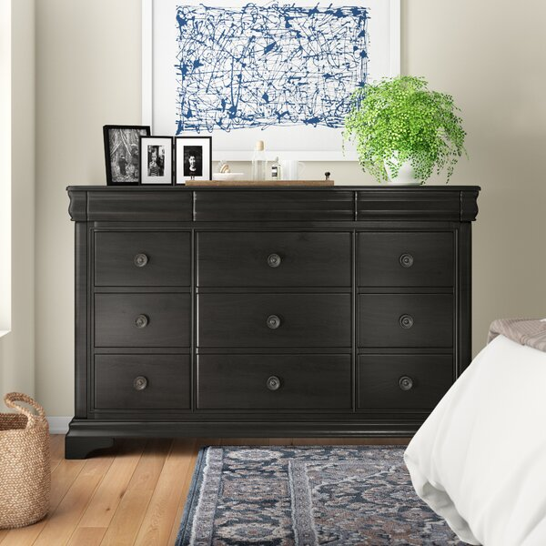 Zahir 9 Drawer Dresser by Alcott Hill