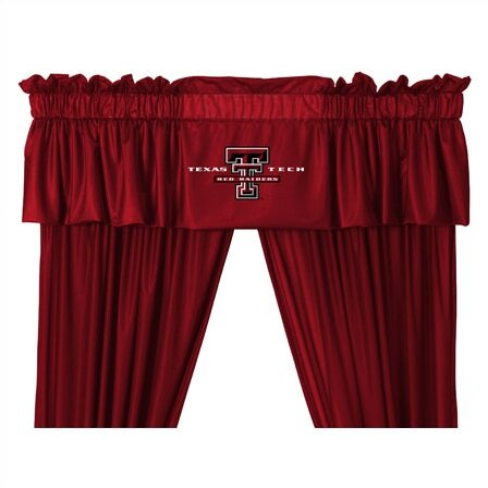 NCAA 88 Texas Tech Red Raiders Curtain Valance by Sports Coverage Inc.