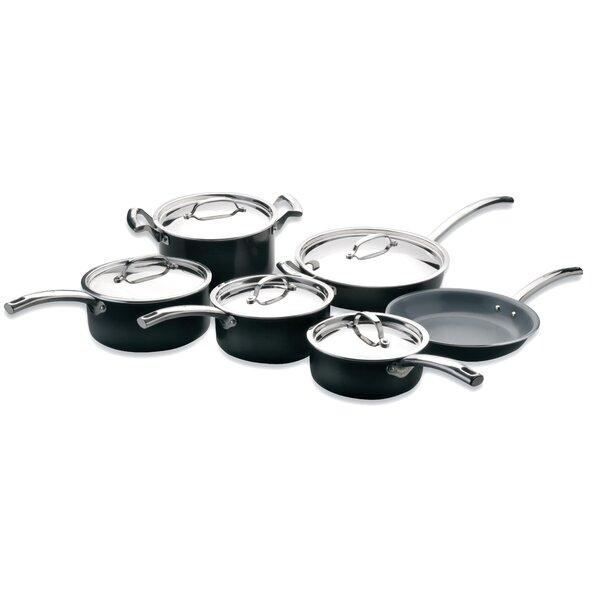 EarthChef 11-Piece Montane Non-Stick Cookware Set by BergHOFF International