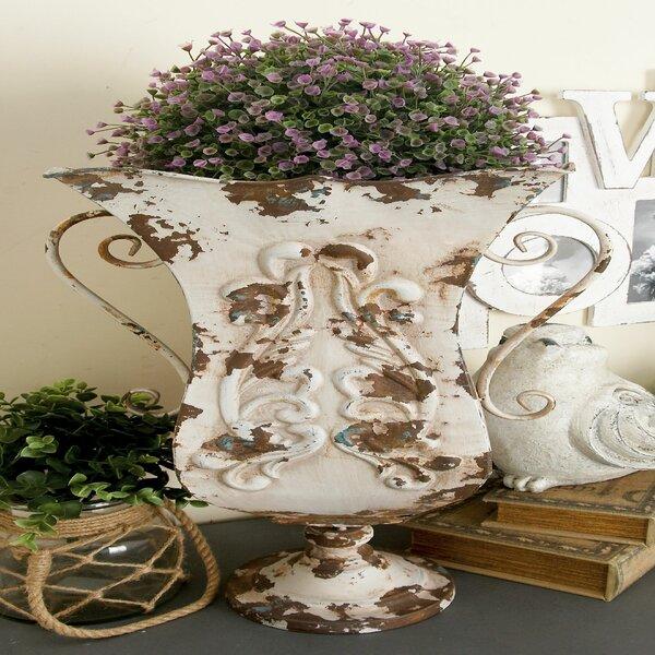 Metal Floor Vase by Cole & Grey
