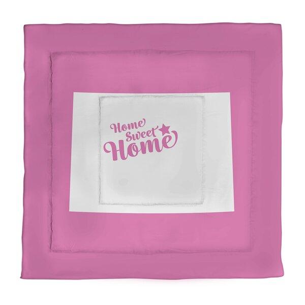 Denver Home Sweet Single Reversible Comforter