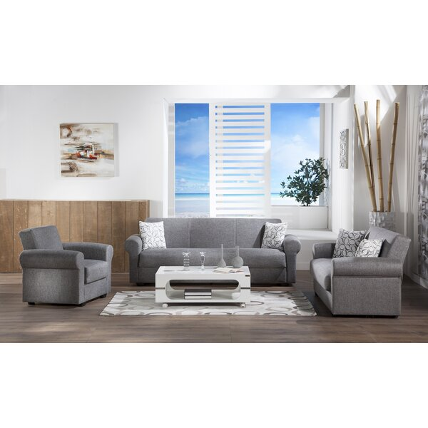 Elita 3 Piece Living Room Set by Red Barrel Studio
