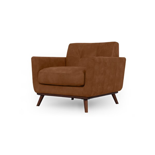 Luther Mid-Century Club Chair By Corrigan Studio