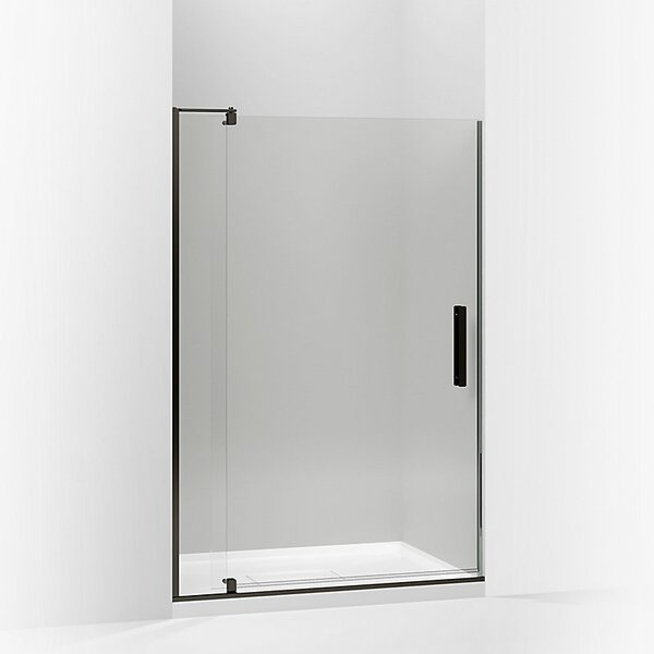 Revel 44'' x 74'' Pivot Shower Door with CleanCoat® Technology by Kohler