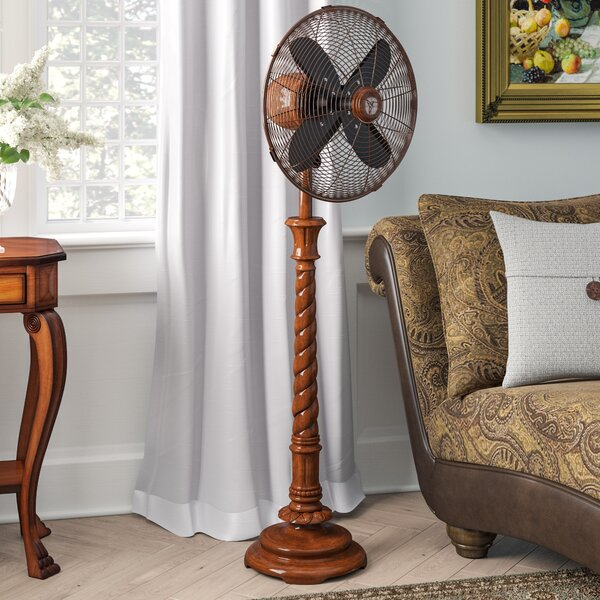 Rieder 16 Oscillating Floor Fan by Astoria Grand