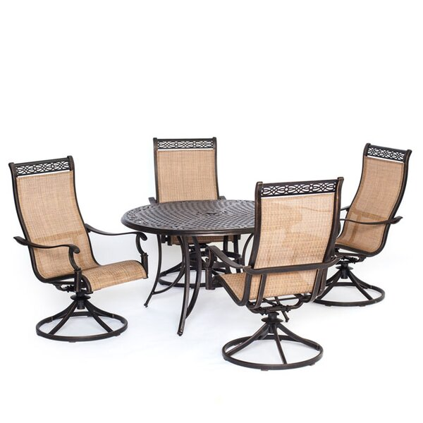 Barras 5 Piece Dining Set by Darby Home Co