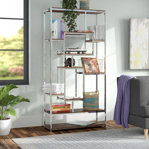 Agatha Etagere Bookcase by Mercury Row