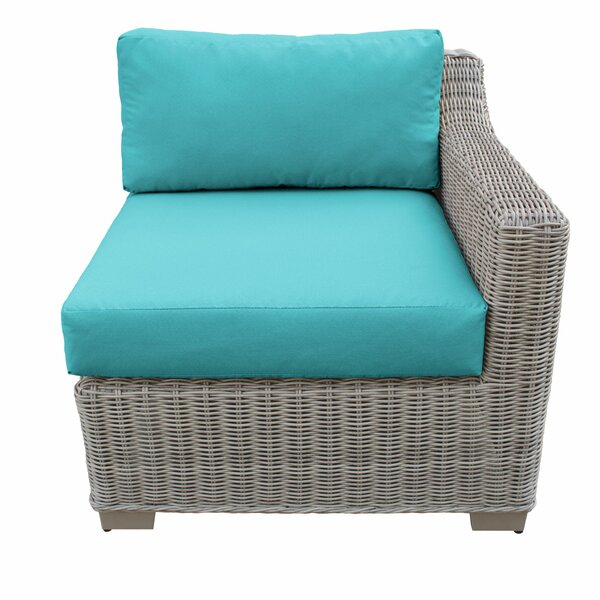 Claire 2 Piece Patio Chair Set with Cushions by Rosecliff Heights