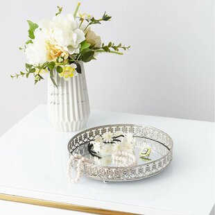 Silver House Of Hampton Decorative Trays You Ll Love In 2021 Wayfair