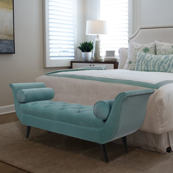 Kalel Tufted Bench by Willa Arlo Interiors