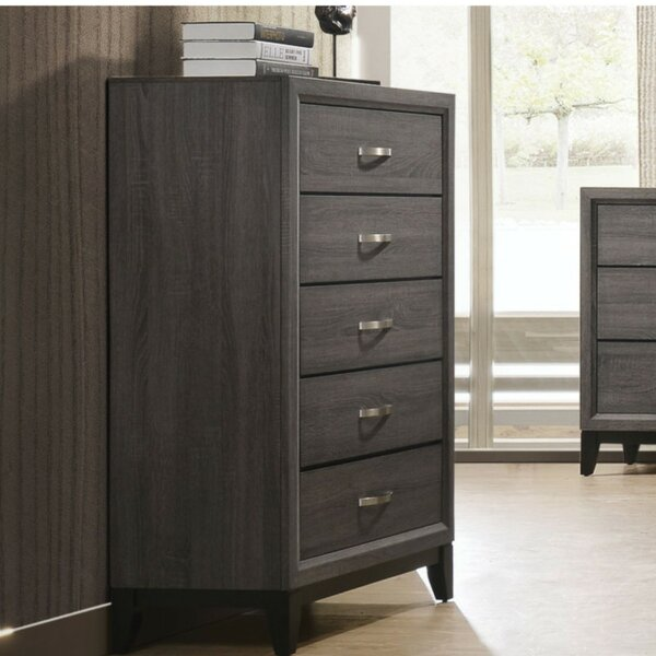 Rio 5 Drawer Chest by Wrought Studio
