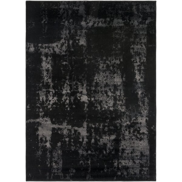 Hatboro Black/Neutral Area Rug by Gracie Oaks