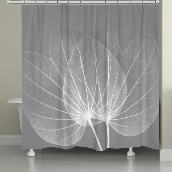 Arietta Leaves Shower Curtain by Latitude Run