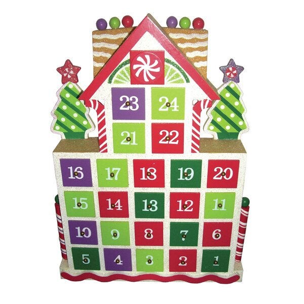 Gingerbread Advent Calendar by Santa's Workshop