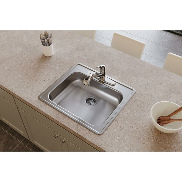 Dayton 25 L x 21 W Drop-in Kitchen Sink