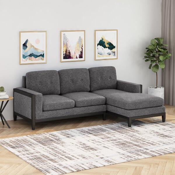 Prokop Chaise Right Hand Facing Sectional By Red Barrel Studio
