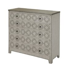 Springfield 4 Drawer Nailhead Chest by Crestview Collection