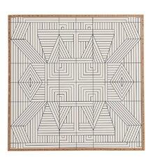 Line Mandala Framed Graphic Art