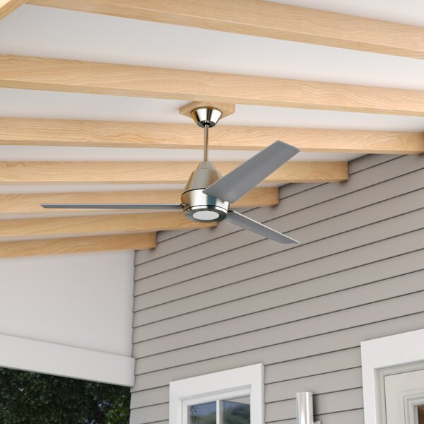 56 Parkside 3 Blade Outdoor Ceiling Fan by Wade Logan