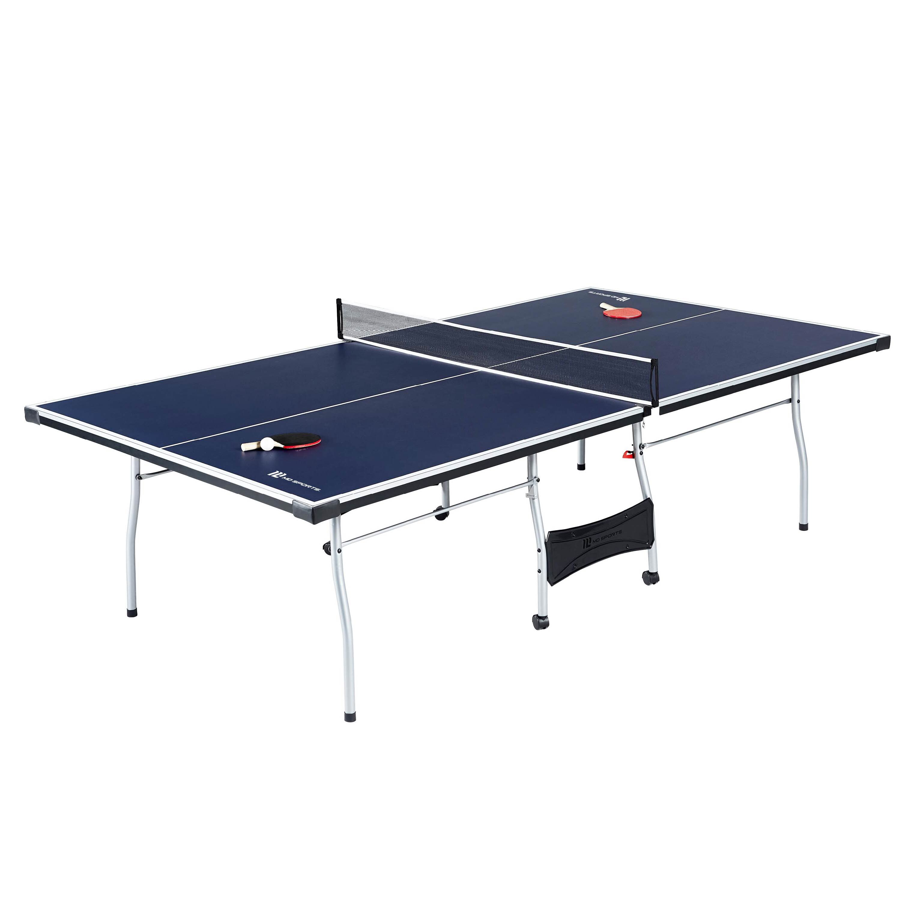Md Sports Official Regulation Size Foldable Indoor Table Tennis Table Reviews Wayfair
