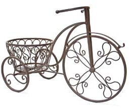 Metal Tricycle Plant Stand by Mr. MJs