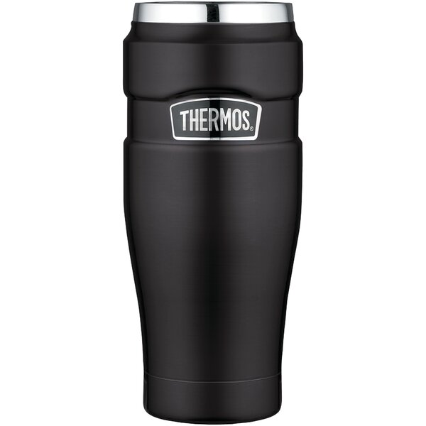 Stainless King Vacuum-Insulated Travel Mug by Thermos