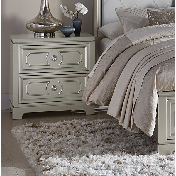 Eldridge 2 Drawer Nightstand by House of Hampton