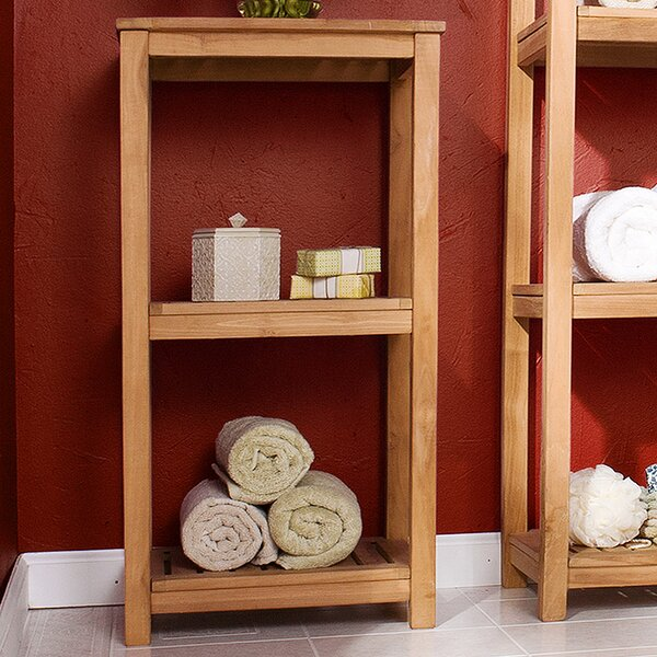 Mckell 15.5 W x 32 H Bathroom Shelf by Wildon Home ®