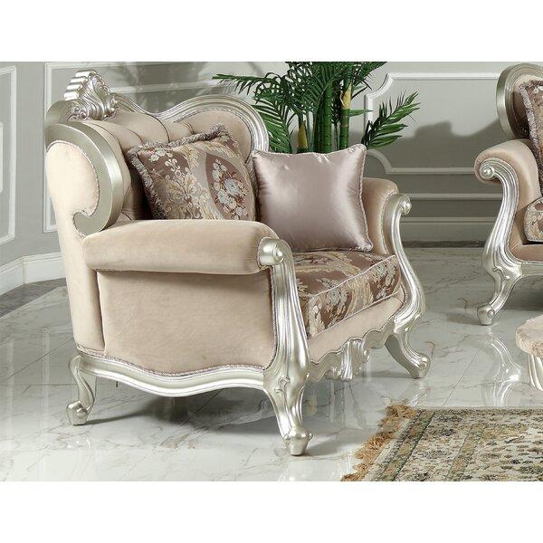 Hazlett Fabric Armchair by House of Hampton House of Hampton