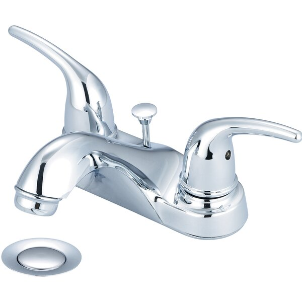 Centerset Bathroom Faucet by Olympia Faucets