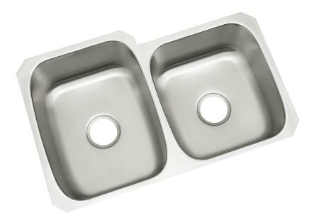 McAllister 31.75 L x 20.75 W Undermount Double Bowl Kitchen Sink by Sterling by Kohler