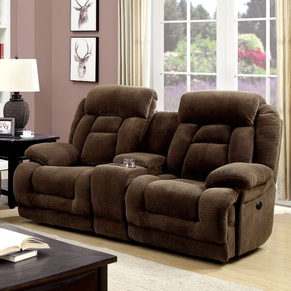 Lammers Reclining 79-inch Pillow top Arm Loveseat by Darby Home Co Darby Home Co
