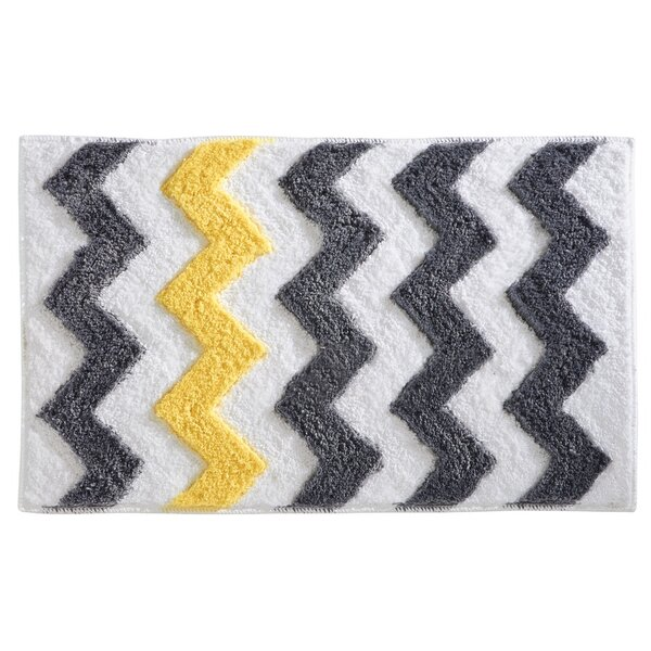Chevron Bath Rug by InterDesign