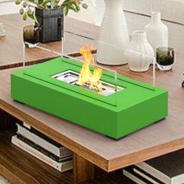 Review Utopia Ventless Portable Bio Ethanol Tabletop Fireplace