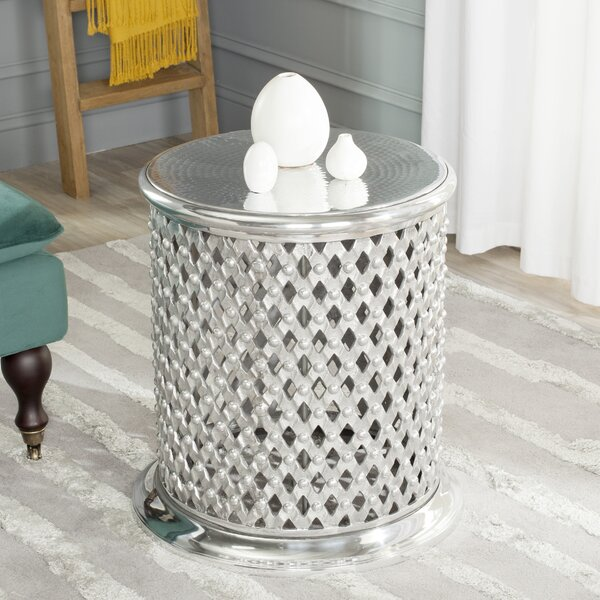 Metal Lace Table Stool by Safavieh
