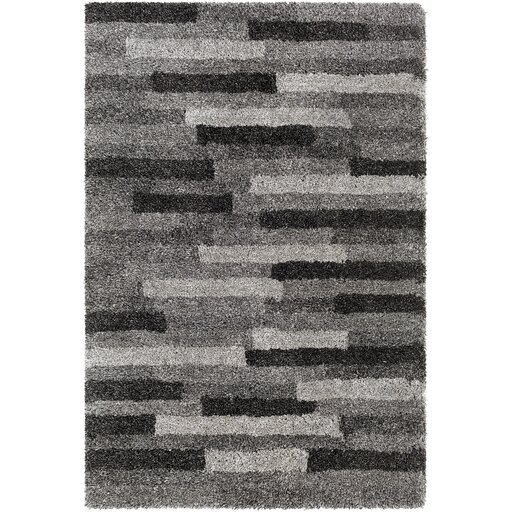 Annie Hand-Tufted Ivory/Black Area Rug by Orren Ellis