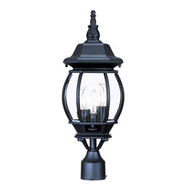 Reva Outdoor 3-Light Lantern Head by Fleur De Lis Living