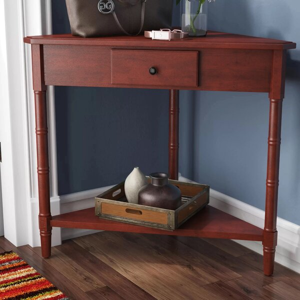 Regan Solid Wood 3 Legs End Table With Storage By Three Posts