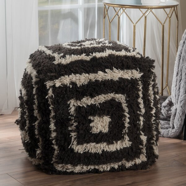 Amie Pouf by Bungalow Rose