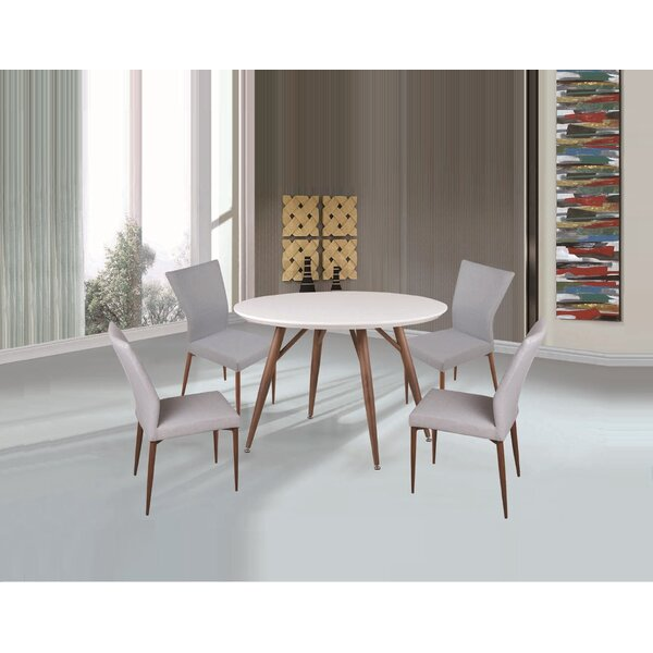 Brandyn 5 Piece Breakfast Nook Dining Set by Corrigan Studio